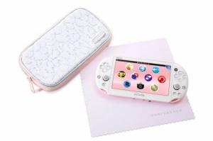 PS Vita機淡粉紅白登場