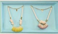 度假風貝殼結繩首飾