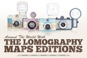 Lomography 全新相機系列 Maps Edition 登場!