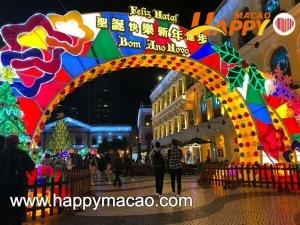 聖誕燈飾放亮耀全城