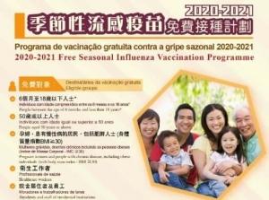 周一起流感高危人士可優先免費接種疫苗
