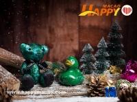 康萊德聖誕特別版小熊及鴨子