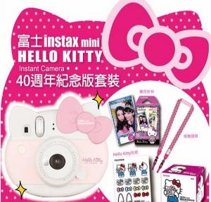 富士instax mini x Hello Kitty 40週年紀念版套裝