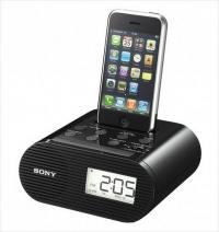 iPod/iPhone 鬧鐘收音機揚聲器