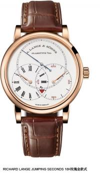 朗格限量18K玫瑰金腕錶