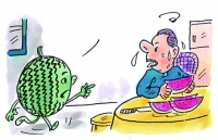 吃西瓜不利糖尿病