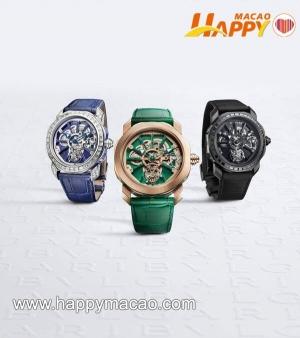 BVLGARI全新天然寶石腕錶系列