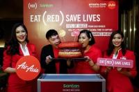 亞航與RED合作推出特色飛機餐