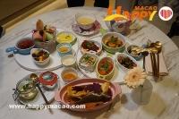 Cha Bei裡的創意自由搭配晚餐
