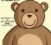 手縫泰迪熊