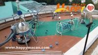 松山露天廣場兒童遊樂區竣工