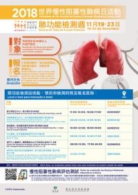 肺功能檢測週免費檢測日