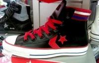 紅黑配新款Converse