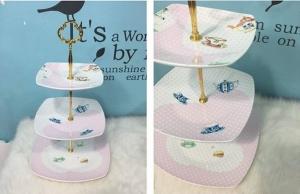 日本皇家瓷器彩繪系列-下午茶點心盤