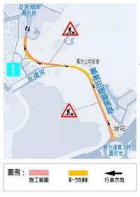 氹仔嘉樂庇總督馬路十天臨時交通安排