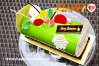 誘人聖誕蛋糕