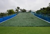 大潭山滑草場重新開放