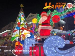 全澳七十六個地點聖誕燈飾放亮慶佳節