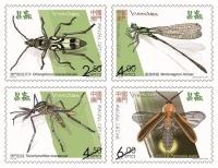 澳門昆蟲郵票開售