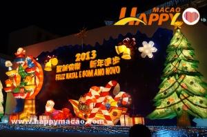 璀璨星光又一年  聖誕燈飾