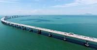 港珠澳大橋下週三正式通車