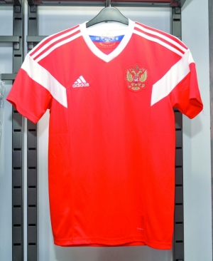 Adidas 世界盃球衣軍容