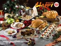 金沙度假區六大餐廳聖誕新年餐飲禮遇