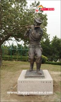 中華民族雕塑園展中華民族文化