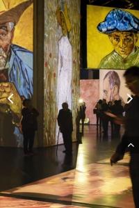 梵高多感官體驗展覽 3千名畫不一樣的體驗